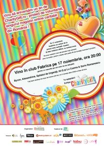concert caritabil CharityGift.ro 1 an