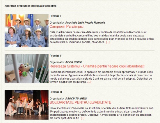 GALA SOCIETATII CIVILE 2013