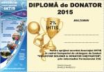 DIPLOMA DE DONATOR IHTIS 2015