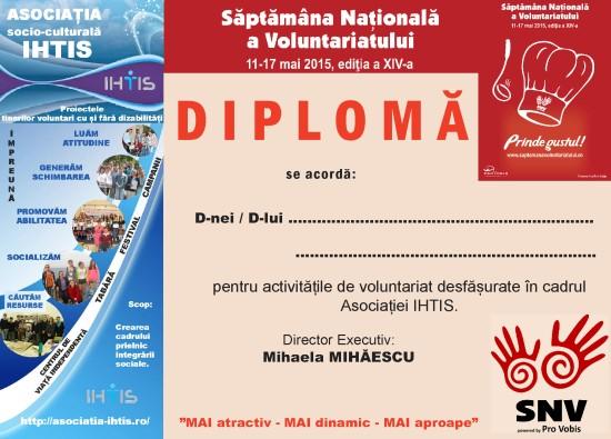 DIPLOMA SNV 2015