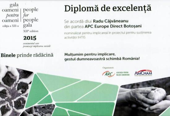 DIPLOMA DE RECUNOSTINTA